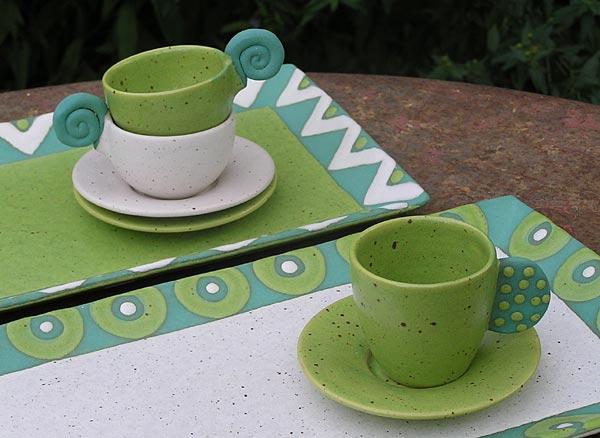 platten burkhardt bunte keramik kollektion. Black Bedroom Furniture Sets. Home Design Ideas